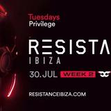 Carl Cox @ Resistance Ibiza Week 2 (Carl's Birthday), Privilege Ibiza - 30 July 2019