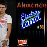 """ALEXANDER Pres. """"ELECTRO LAND"""" VOL.31 Soon out on Radio RMC"""