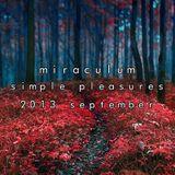 MiraculuM - Simple Pleasures 2013 September