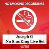 Joseph G. - No SmoKing Live Set 19-08-2017