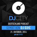 DJ D3!C - DJcity DE Podcast - 21/10/14