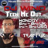 Tech Me Out Monday 2nd Sept.2019 Live On HBRS - DJ Wino