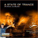 Armin Van Buuren – A State of Trance ASOT 843 – 07-DEC-2017