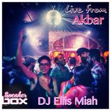 Ellis Miah Live DJ Set Speakerbox Nights at @akbar 1 yr anniversary