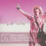Benjamin K - Pink Mammoth - Burning Man 2017