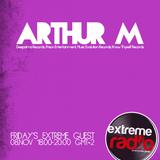 Arthur M GuestMix @ eXtreme Radio 08/11 (Part 1)