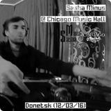 Sasha Minus @ Chicago Music Hall, Donetsk (12/03/16)