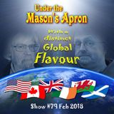 Under the Mason's Apron Folk Show #79 FEB 2018