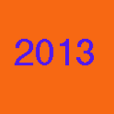 So, that was 2013