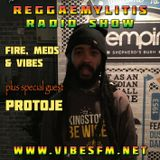 Reggaemylitis Radio Show, Vibes FM, 31 May 2017 - ft Special Guest interview: Protoje