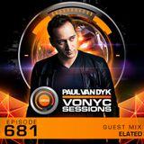 Paul van Dyk's VONYC Sessions 681 - Elated