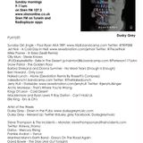 Tracey Edges - Sunday Girl (no.135) 24/04/16
