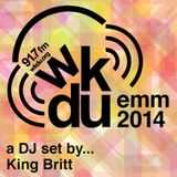 King Britt 90 min mix HISTORY OF ELECTRONIC MUSIC | October 13th | 2014 EMM