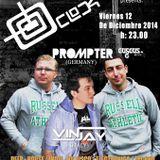 12-12-2014 Prompter @ O'Clock Tenerife- Spain
