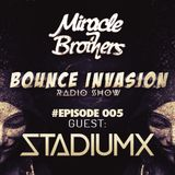 Bounce Invasion 005/w Stadiumx