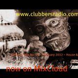 tattboy's Mix No. 25 ~ February 2012 ~ House & Club * ~ as heard on www.clubbersradio.com