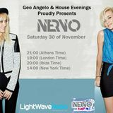 Geo Angelo & House Evenings Presents NERVO At LightWaveRadio 30.10.13