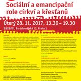 Sociální a emancipační role církví a křesťanů - Církev jako aktér pokroku ve společnosti (TK)