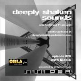 Siasia - Exclusive Mix at Deeply Shaken Show/ORLA FM (02.2011)