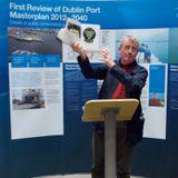 Francis Devine labour historian speaks at The Dublin Docker book launch