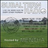Mentha - Subaltern Radio 27/10/2016 on SUB.FM