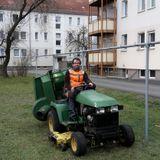 Mr. Gently mix - Traktor fahren