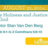 The Holiness and Justice of God