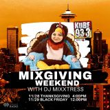 11-28-19 KUBE 93.3 (iHeartRadio) MIXGIVING WEEKEND