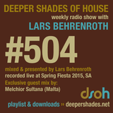 Deeper Shades Of House #504 w/ exclusive guest mix by MELCHIOR SULTANA