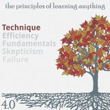 411: The Principles of Learning Anything - Part 1 - Technique
