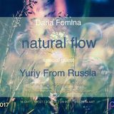 Yuriy From Russia - Guest Mix for Natural Flow with Daria Fomina on Pure.FM (June 2017)