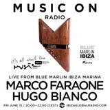 Hugo Bianco - Live @ Blue Marlin Ibiza Marina, Ibiza Global Radio (Ibiza, ES) - 15.06.2018