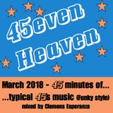 45 minutes of... ...typical 45s music (funky style) (mixed by Clemens Esperanza)