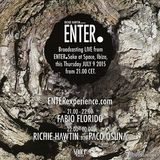 Richie Hawtin & Paco Osuna - Live @ ENTER.Sake, Week 2, Space ,Ibiza, Espanha (09.07.2015)