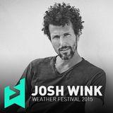 Josh Wink @Weather Festival Paris, France (06-06-2015)