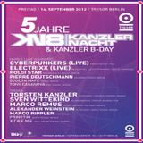 X-T.R.E.M.E. @ 5 Jahre Kanzlernacht & Kanzler B-Day - Tresor Berlin - 14.09.2012