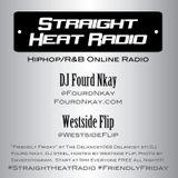 Straight Heat Radio - November 2015 - DJ Fourd Nkay X WestsideFlip