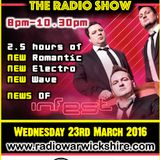 RW068- THE JOHNNY NORMAL RADIO SHOW 'INFEST PREVIEW 1' - 23RD MARCH 2016 - RADIO WARWICKSHIRE