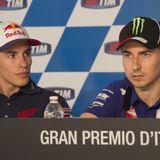 La rivalidad Márquez - Lorenzo llega a Honda