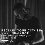 Reclaim Your City 214 | Unbalance
