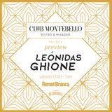 Dj set Leónidas Ghione exclusivo Montebello bistro & mirador