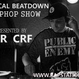 Critical Beatdown Hiphop show (103) Rapstation Radio