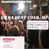 Emma Dent Coad talks to Portobello Radio (Sept 2016)