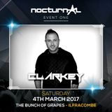 CLARKEY Nocturnal Event 1 Warm Up Mix ( UK / Happy Hardcore)