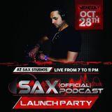 DJ Sax (Official) Podcast: Episode 001 - Live @ Sax Studios