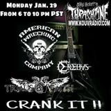 Thrash Zone w/ American Wrecking Company, Trials By Faith, Jekyll & Hyde, Dan Stacey of Erebus pt 2