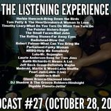 The Listening Experience podcast #27 (October 28, 2018)