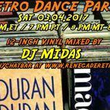 Retro Dance Party 03.04.2017 LIVE on Renegade Retro <renegaderetro.com>