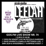GDS.FM SHOW Nr. 74 LE FLAH LIVE MIT UGLY HEROES UND SMK TEIL 2/2