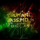 DRUMANDBASS.MD PODCAST MIXED BY DJ INVISIBLE LANDSCAPE